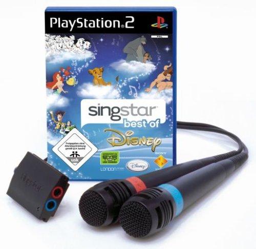 SingStar Best of Disney inkl. 2 Mikrofone