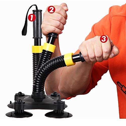 Armwrestling Trainer, Trainingsgerät Unterarmausrüstung Handmuskelentwickler Griffe Handgelenkmuskelentwickler Krafttraining,Black