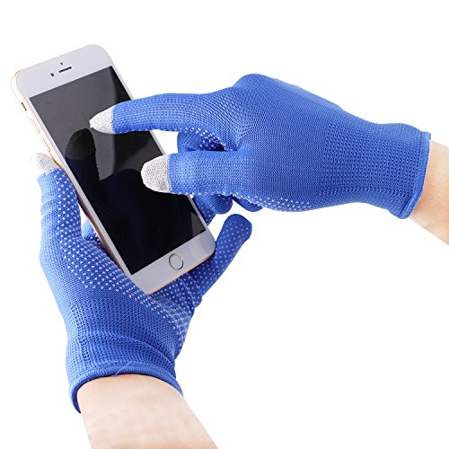 Ylucky Summer Phone Touchscreen Gloves Sun UV Protection Breathable Driving Gloves Anti-Skid Full Finger Short Gloves Sun Block Cycling Glove Outdoor Motorcycle Camping Gym Fitness Workout Women Men