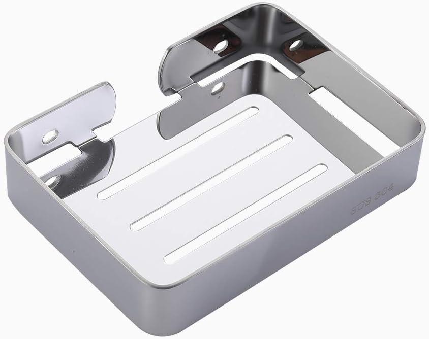 Discount is also underway ERRichmo Soap Dish Max 52% OFF Holder Rustproof Bar Sponge for S
