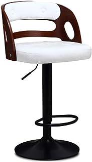 Taburete de bar Silla moderna moderna de la barra de la barra de acero 360 ° Silla giratoria de la barra para la cena ajustable de la silla de la oficina de la cocina de la silla ajustable de la ofici