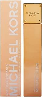 Michael Kors Rose Radiant Gold Eau de Parfum Spray for Women, 3.4 Ounce