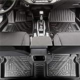 jialaiwo Alfombrillas Coches Goma para Ford Ranger 2015-2020 5 plazas Alfombrilla Impermeables para Todo Clima Accesorios Interiores Alfombras Negro