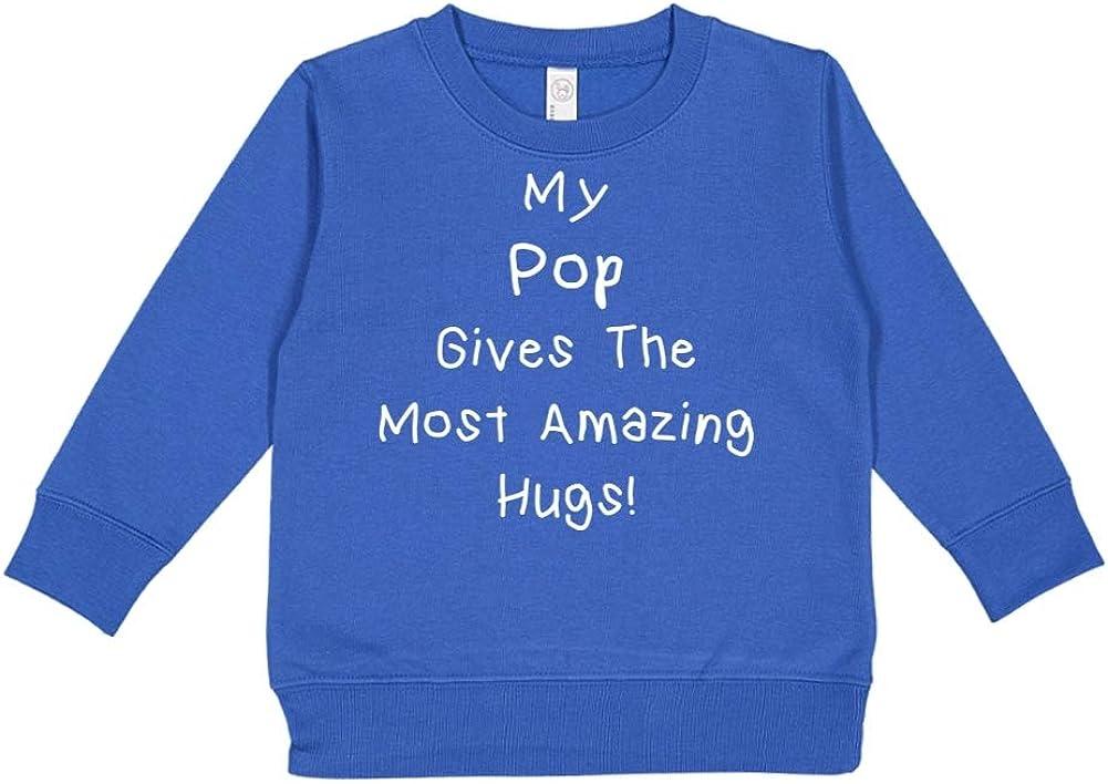Mashed Clothing My Pop Gives The Most Amazing Hugs Toddler//Kids Sweatshirt