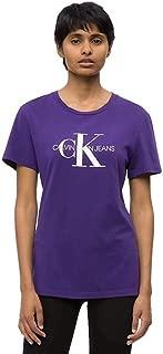 Calvin Klein Women's 2724671605-Purple T-Shirts