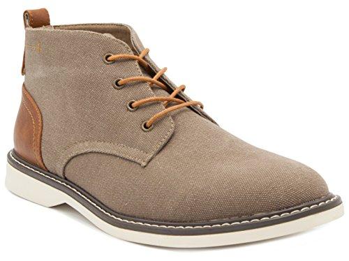 LONDON FOG Mens Belmont Chukka Boot Brown 9.5 M US