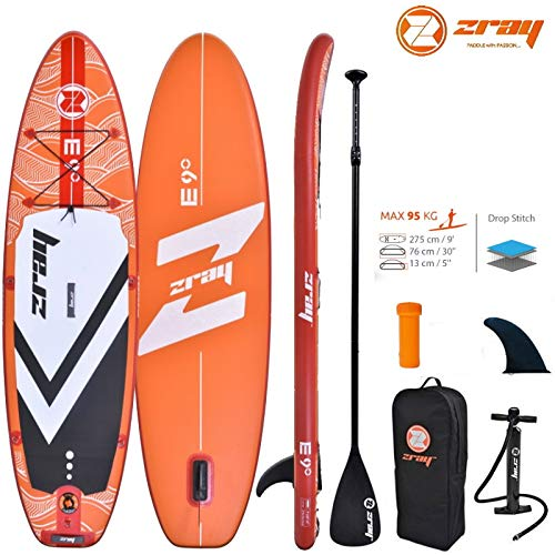 Zray Evasion Deluxe 9.0 SUP Board Stand Up Paddle Surf-Board ALU Paddel ISUP 275cm