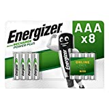 Energizer AAA Akkus, Recharge Power Plus Akku, 8
