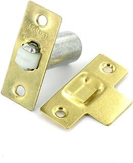 Adjustable Roller Ball Door Catch - Brass