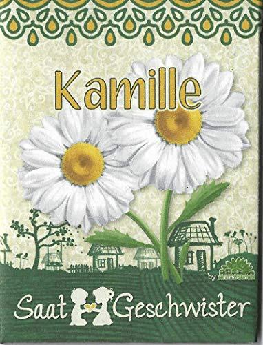 Die Stadtgärtner Kamille-Saatgut | beliebte Heilpflanze und Augenschmauß | Samen für 80 Pflanzen