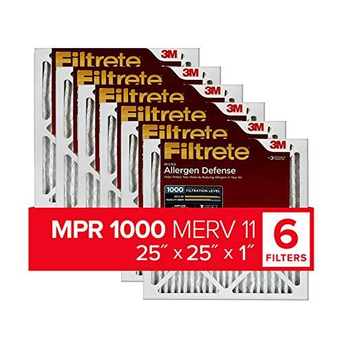 Filtrete AD15–– 6pk-1e Air Filter, 63,5x 63,5x 2,5cm weiß