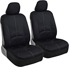Classic Neoprene Car Seat Covers - Comfortable Polyester Protection - Beige Accent Stitching