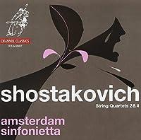 Shostakovich: String Quartets Nos.2 & 4 by Amsterdam Sinfonietta (2008-01-08)