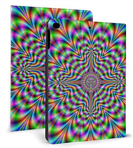 Psychodelic Pulse PU Leather Smart Case Función Auto Sleep / Wake para iPad Air 1/2 9.7 'Funda