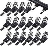 100 piezas bridas de cable de nylon ajustable sujetacables organizador abrazaderas clips de alambre con cinta adhesiva fuerte clips adhesivos de gestión para oficina, hogar