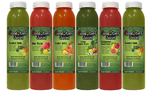 3 Day Organic Juice Cleanse by Good Stuff Juices