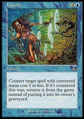 Magic The Gathering - Liquify - Liquefare - Torment