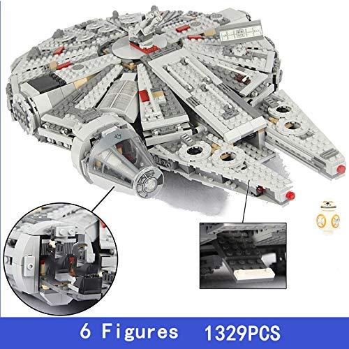 Bloques de construcción Star Wars Películas Imperio del Milenio Guerra Nave Estelar Nave Espacial Destructor Construcción Bloques Starwars Juguetes para Niños Regalos Building Blocks NOBOX