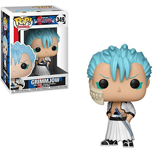 Gogowin POP Animtion : Bleach - Grimmjow 3.75inch Vinyl Gift for Anime Fans Chibi Figure