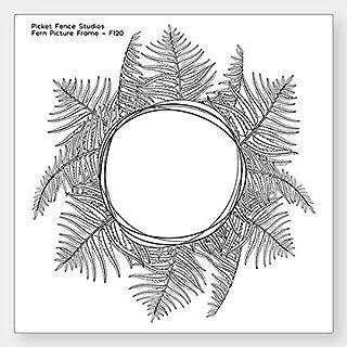 Picket Fence Studios Clear Stamp Set - Fern Picture Frame