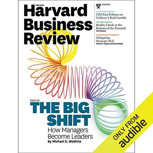 Harvard Business Review, June 2012 copertina