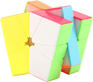 Flameer Speed Multi-Color Sector Cube Kids Game Fine Motor Skills Toy, Enhanced Version 3x3x3