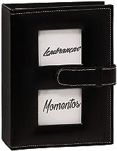 Álbum YES 200 fotos courino com 2 Janelas personalizaveis 10x15cm