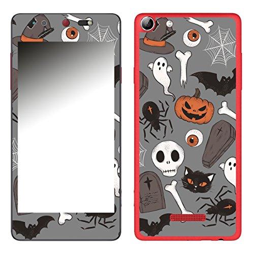 Disagu SF-106693_1213 Design Folie für Wiko Selfy 4G - Motiv Halloweenmuster 05