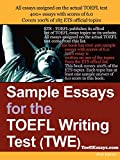 Sample Essays For The TOEFL Writing Test (TWE)