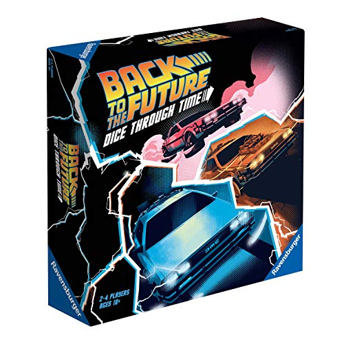 Ravensburger Back to The Future Game-Dice Through Time