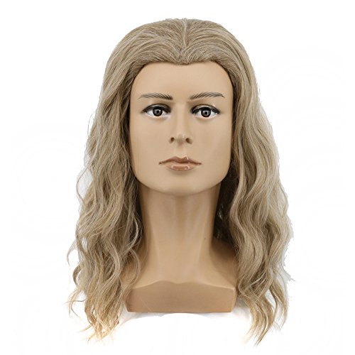 Long Blonde Wave Wig Costume Accessory