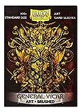 Dragon Shield Fundas para Tarjetas artísticas, tamaño estándar, 100 Unidades, con Escudo de vicario General