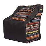 Focket Akkordeonrucksack, tragbare, im nationalen Stil gepolsterte Akkordeontasche, Organizer für...