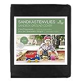 Prolifiqs Sandkastenvlies 150g / m² I Sandkasten Vlies & Unkrautvlies für den Kinder Sandkasten I Atmungsaktiv & Reißfestes Gartenvlies I Für Sand + Rindenmulch + Kies + Pflastersteine (2 m x 2 m)