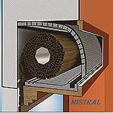FUTURAZeta - Stop Spifferi Kit 1 metro Isolamento Termico Acustico Coibentazione Cassonett...