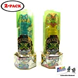 Treasure X Alien Hunters (2 Pack) with 2 GosuToys Stickers (Blue and Red)