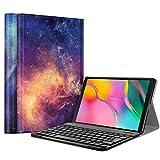 FINTIE Coque Clavier pour Samsung Galaxy Tab A 10.1 2019, [AZERTY français] Modèle...