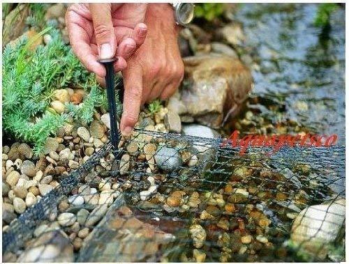 Pondpro Filet de protection pour étang 3 m x 2 m pour protéger les poissons et les feuilles de héron