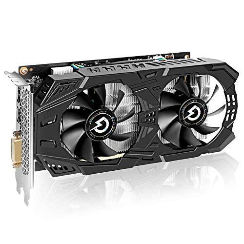 Tarjetas gráficas para juegos, GeForce GTX 1060 3 GB GDRR5 192 bits 8 Gbps HDCP Computer Gaming Card, compatible con DirectX 12 Dual Fan VR Ready OC tarjeta gráfica (GTX 1060 3GT OC)