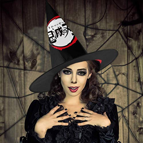 Learn More About Demon Slayer Halloween Hat Witch Costume Accessory Cap For Masquerade Christmas Par...
