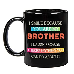 🎁 [DESIGN AND PRINTED IN USA]: All of our mugs are screen printed in the USA. Ceramic 11 oz/15 oz High quality ceramic mug. Coffee cup designs are professionally printed. Make someone smile with funny, cute, vintage, or expressive artwork! Blue Sunfl...