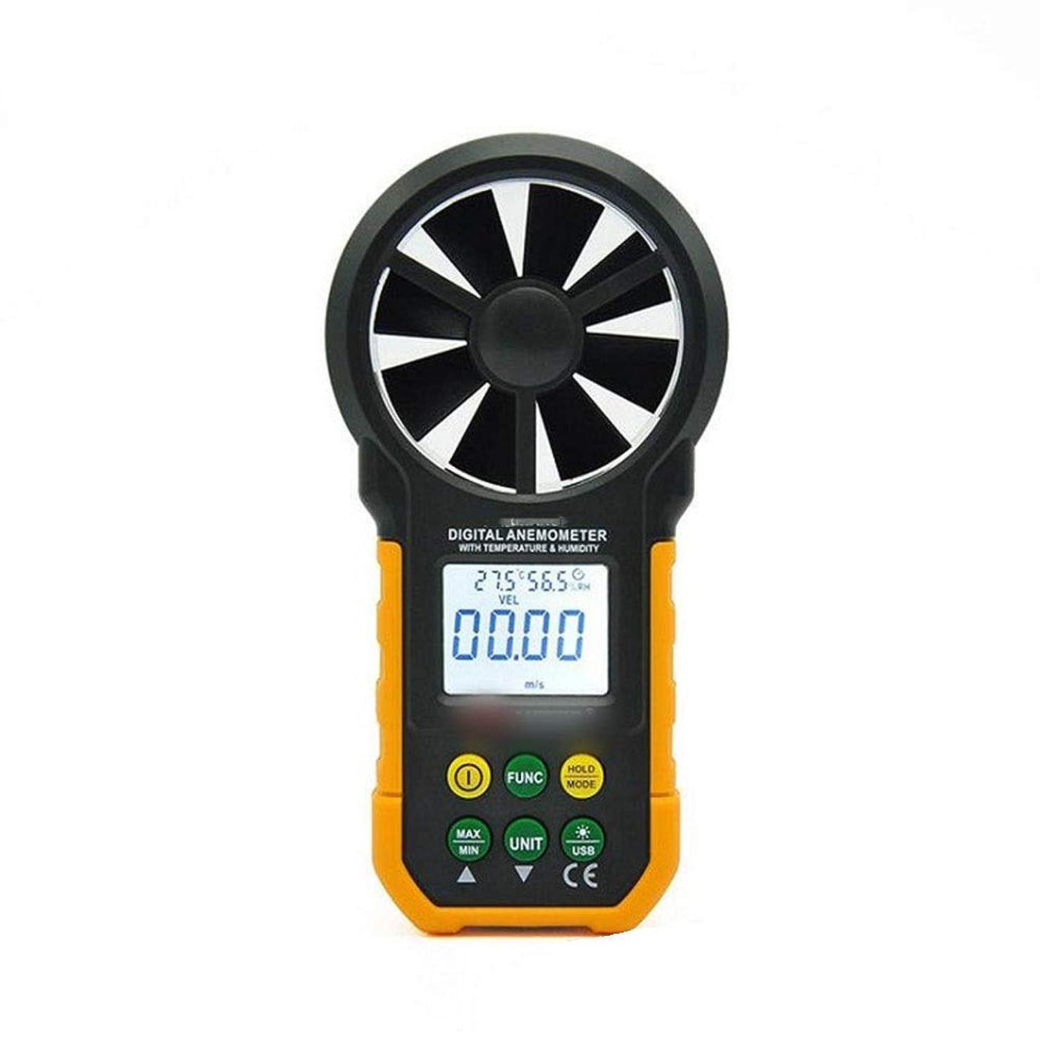 いつ突撃熱意JPAKIOS デジタル風速計ハンドヘルド高精度風量温度湿度計A/B (色 : A)