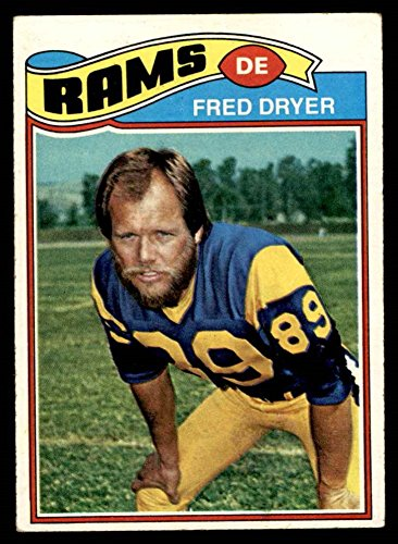 1977 Topps # 513 Fred Dryer Los Angeles Rams (Football Card) VG/EX Rams San Diego St