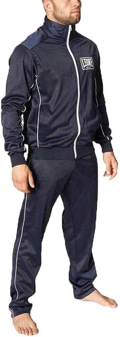Tuta sportiva leone 1947 completa (giacca e pantaloni) leone ab798 blu (xlarge)