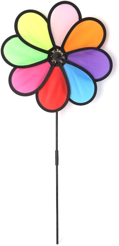 Autone Windmill Toys Trust Children Kids Co Leaves 8 Decoration Fresno Mall Garden