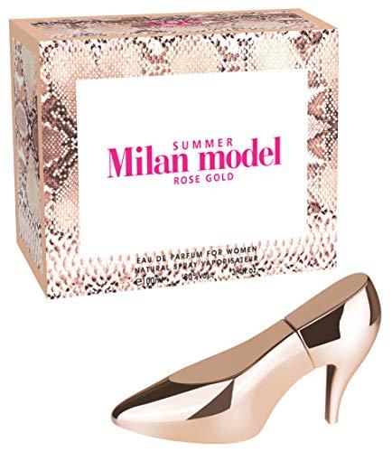 Aquarius 784064 Perfume Mujer Milan Model Tacón 100 ml, 1 Unidad, 300 g