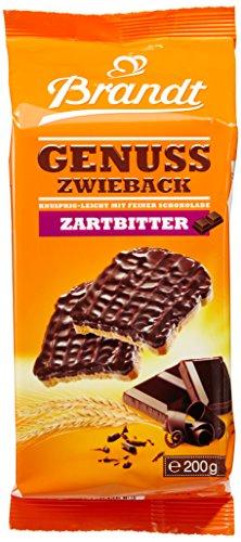 Brandt Schoko- Zwieback, 10er Pack (10 x 200 g)