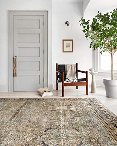 """Loloi II Layla LAY-03 Olive Traditional Accent Rug 2'-0"""" x 5'-0"""""""