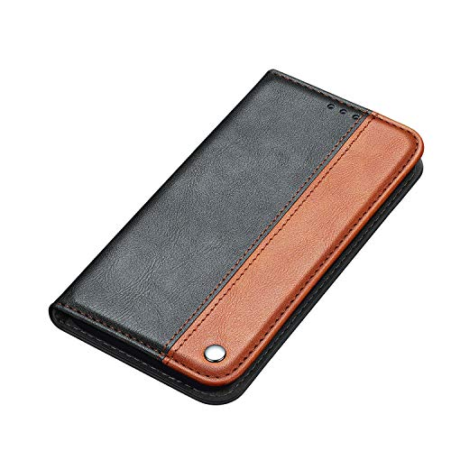 Sweau Galaxy Note 20 Brieftasche Hülle Business Schutzhülle,Ultra Dünn Schutzhülle mit Kartenfach und Ständer,Leder Etui PU Klapphülle Komplettschutz Kompatibel mit Galaxy Note 20