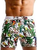 costumi da bagno per uomo taddlee costumi da bagno stampati con motivi floreali boxer corti da surf o lunghi a pantaloncino
